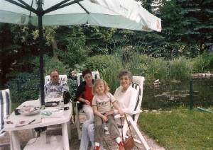 Urlaub bei Fillwebers im Garten - heute