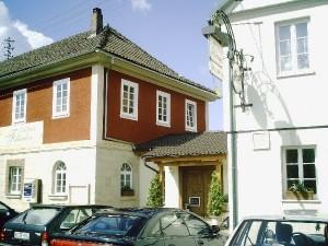 Gasthof & Saalgebäude verbunden - Juli 2005