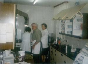 Bei Fillwebers in der Küche - 90er-Jahre