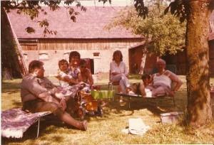 Urlaub bei Fillwebers im Garten